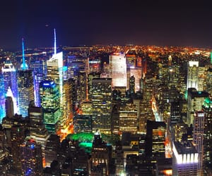new york, usa, and midtown manhattan image