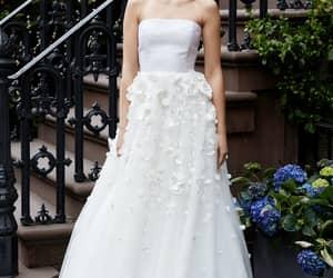 bridal, dress, and lela rose image