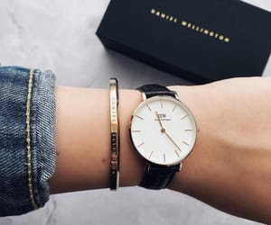 bracelet, daniel wellington, and danielwellington image