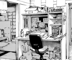 manga, anime, and room image