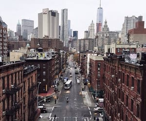 new york city, new york, and market st. image