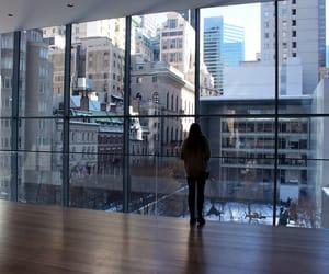 new york, new york city, and museum of modern art image