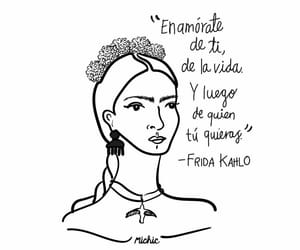 frida kahlo and love yourself image