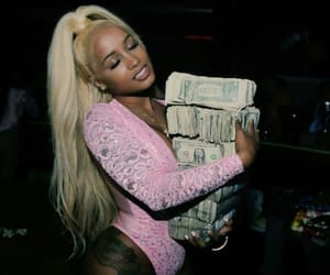 money, dream doll, and pink image