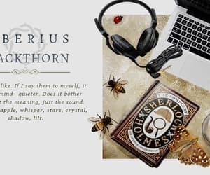 character, edit, and tiberius blackthorn image