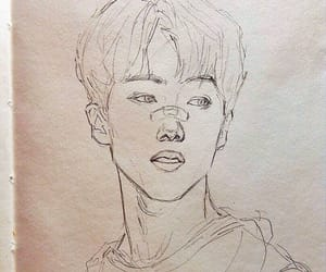 art, drawing, and k-pop image