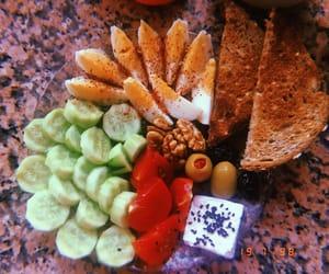 breakfast, dinner, and food image