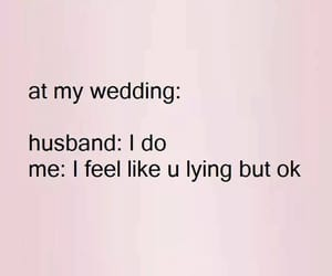 funny, wedding, and love image