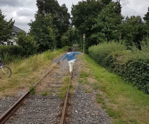 escape, me, and railway image