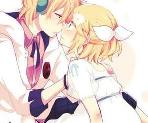 anime, blond girl, and kawaii image