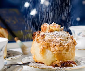 apple, sweet, and breakfast image