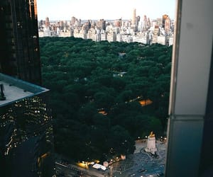 Central Park, new york, and columbus circle image