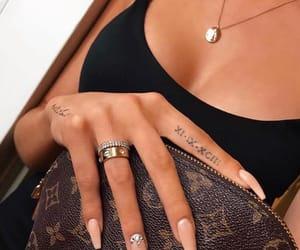 Louis Vuitton, nail art, and natural image