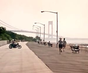 boardwalk, motorcycle, and usa image