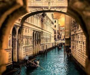 arquitectura, Ciudades, and gondola image