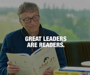 bill gates, motivation, and reading image