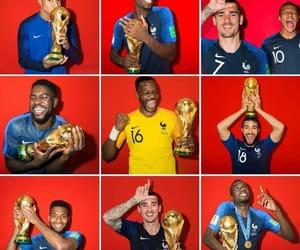 football, les bleus, and rusia 2018 image