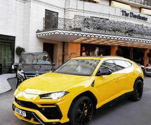 carros, yellow, and cars image