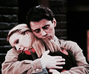 joey tribbiani, f.r.i.e.n.d.s, and pheobe buffay image