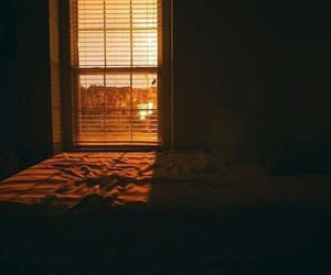 sunset, room, and photography image