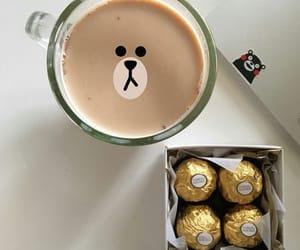 coffee, chocolate, and cute image