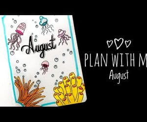 planner, video, and bulletjournal image