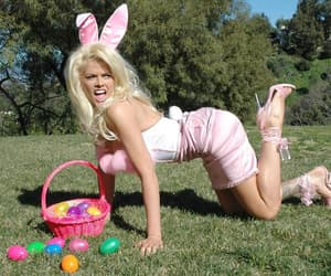 actress, anna nicole smith, and happy easter image