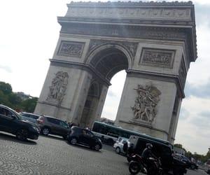 arc de triomphe, france, and place image