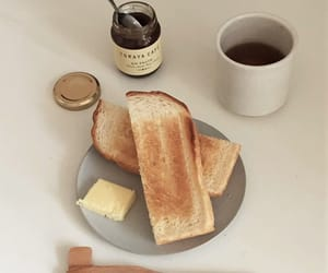 bread, drink, and espresso image