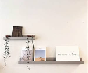 interior, minimalist, and shelf image