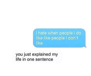 life, people, and sentence image