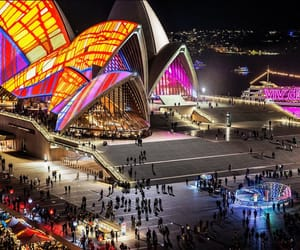 colorful, festival, and opera house image