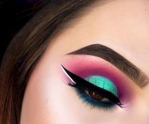 eyebrows, lashes, and eyeliner image