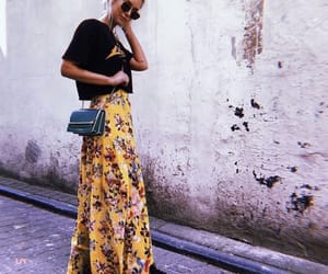 effortless, floral, and fashion image
