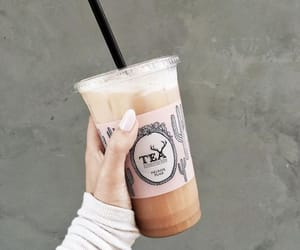 drink, tea, and nails image