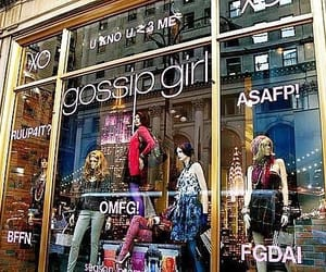gossip girl, new york city, and window displays image