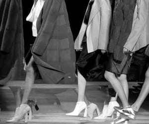 blackandwhite, runway, and fashion image