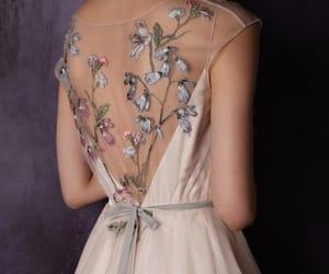 details, dress, and wedding image