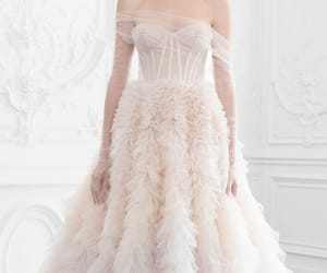 Couture, fashion, and gown image