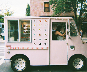 vintage, ice cream, and indie image