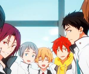 anime, gif, and rin image
