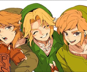 game, link, and ocarina of time image