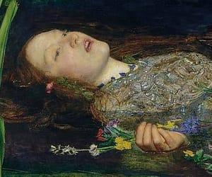 ophelia, art, and John Everett Millais image