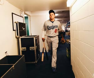 baseball, mlb, and dodgers image