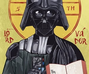 aesthetic, art, and darth vader image