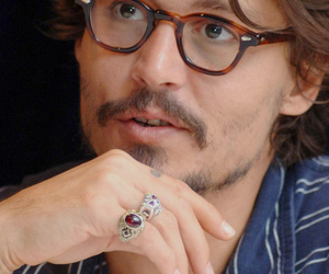 actor, glasses, and hand image