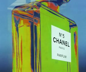 art, chanel, and Gradients image