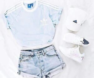 adidas, fashio, and fashion image