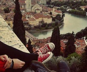 bridge, couple, and grunge image