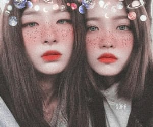blush, edit, and freckles image